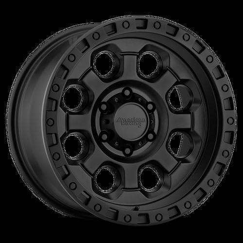 AMERICAN RACING AR201 hliníkové disky 9x17 8x170 ET-12 Cast Iron Black