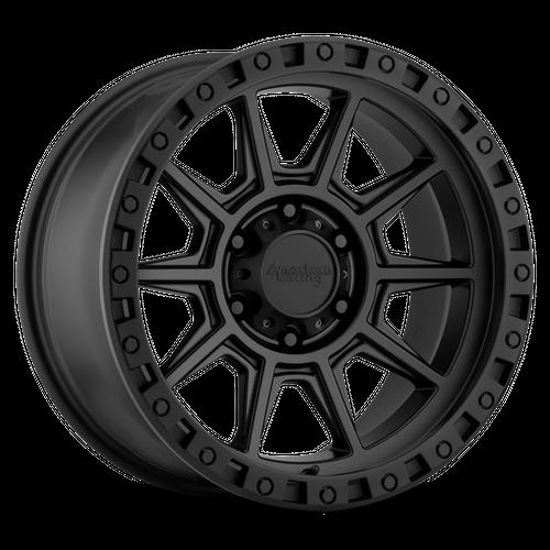 AMERICAN RACING AR202 hliníkové disky 9x18 5x127 ET0 Cast Iron Black
