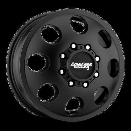 AMERICAN RACING AR204 BAJA DUALLY hliníkové disky 6x16 8x165,1 ET111 Satin Black - Front