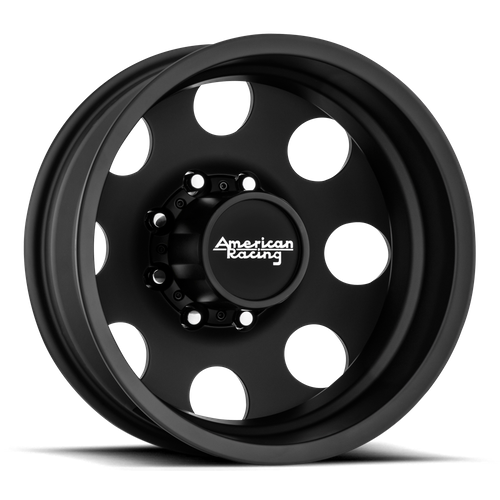 AMERICAN RACING AR204 BAJA DUALLY hliníkové disky 6x16 8x165,1 ET-134 Satin Black - Rear