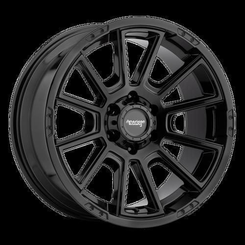 AMERICAN RACING AR933 INTAKE hliníkové disky 8,5x17 5x127 ET18 Gloss Black