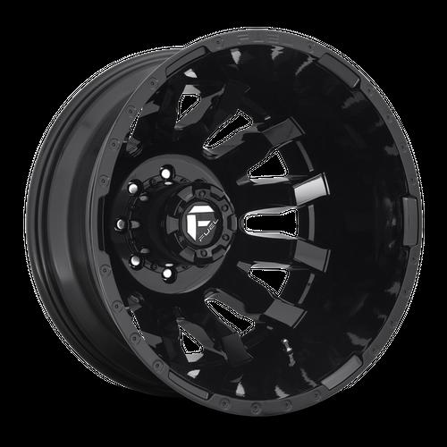 FUEL D675 BLITZ hliníkové disky 8,25x20 8x165,1 ET-221 GLOSS BLACK