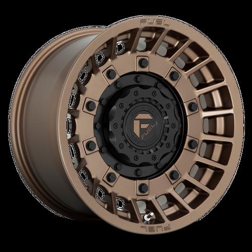 FUEL D725 MILITIA hliníkové disky 10x20 5x139,7-150 ET-18 Matte Bronze & Black