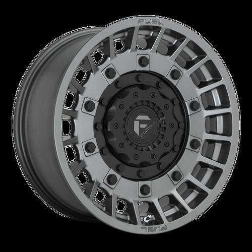FUEL D726 MILITIA hliníkové disky 9x17 5x114,3-127 ET-12 Matte Anthracite And Black