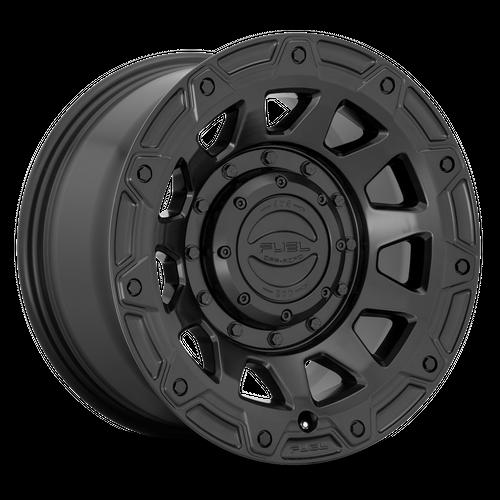 FUEL D729 TRACKER hliníkové disky 9x17 6x135-139,7 ET1 SATIN BLACK