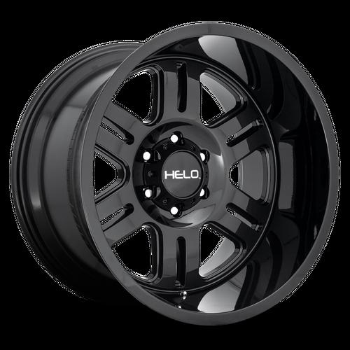 HELO HE916 hliníkové disky 9x18 8x165,1 ET18 Gloss Black