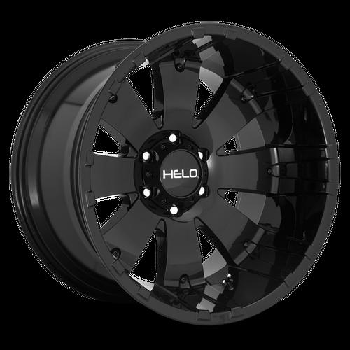 HELO HE917 hliníkové disky 9x20 8x165,1 ET0 Gloss Black