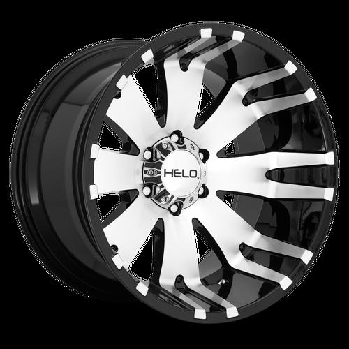 HELO HE917 hliníkové disky 10x20 5x127 ET-18 Gloss Black Machined