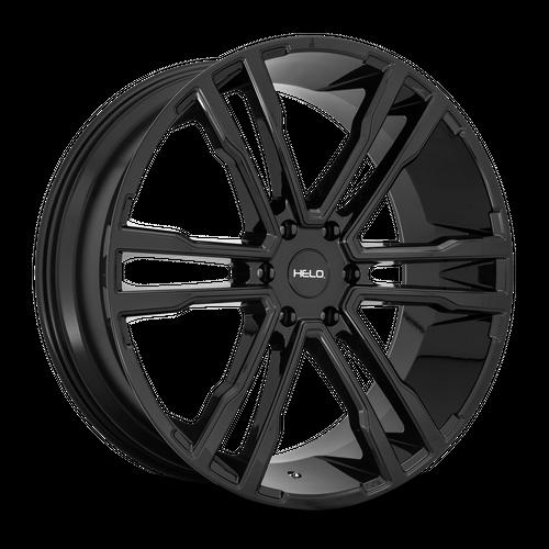 HELO HE918 hliníkové disky 9,5x24 6x139,7 ET30 Gloss Black