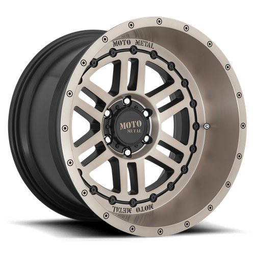 MOTO METAL MO800 DEEP SIX hliníkové disky 12x20 8x165,1 ET-44 Satin Black With Bronze Tint