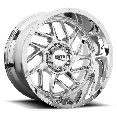 MOTO METAL MO985 BREAKOUT hliníkové disky 10x22 8x180 ET-18 Chrome