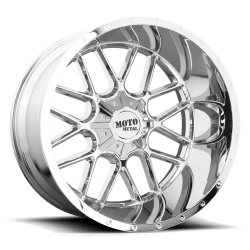 MOTO METAL MO986 SIEGE hliníkové disky 10x22 6x135-139,7 ET12 Chrome