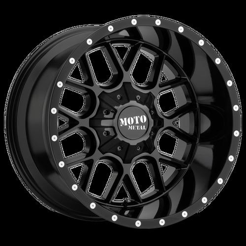 MOTO METAL MO986 SIEGE hliníkové disky 10x20 6x135-139,7 ET-18 Gloss Black