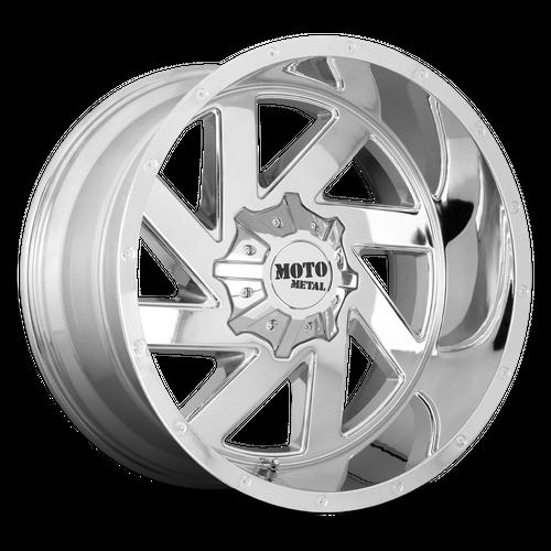 MOTO METAL MO988 MELEE hliníkové disky 10x22 6x135-139,7 ET-18 Chrome