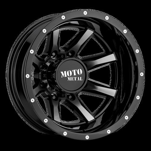 MOTO METAL MO995 hliníkové disky 6,5x17 8x165,1 ET-140 Gloss Black Machined - Rear