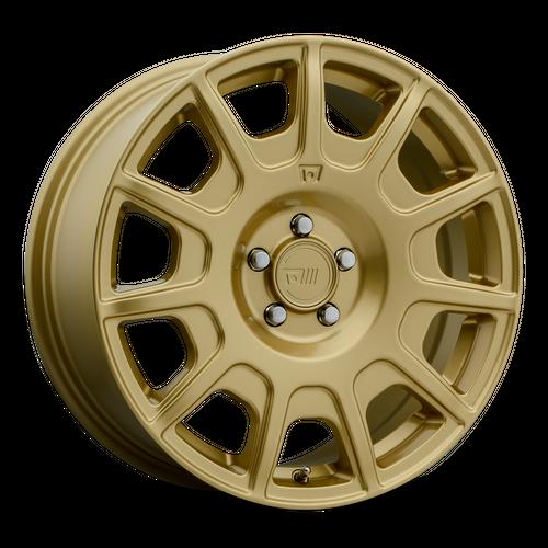 MOTEGI MR139 RF11 hliníkové disky 7,5x17 5x100 ET40 Rally Gold
