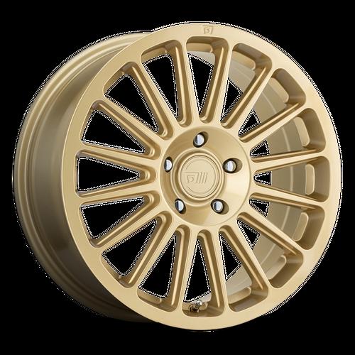 MOTEGI MR141 RS16 hliníkové disky 7x15 5x100 ET15 Rally Gold