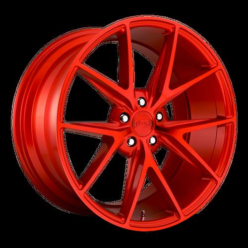 NICHE M186 MISANO hliníkové disky 8x18 5x114,3 ET40 CANDY RED