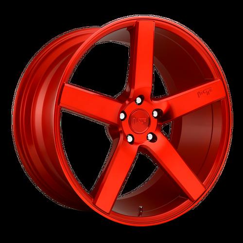 NICHE M187 MILAN hliníkové disky 8,5x20 5x114,3 ET35 CANDY RED