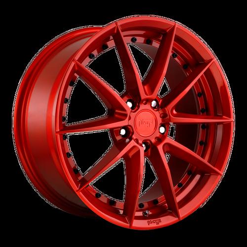 NICHE M213 SECTOR hliníkové disky 8,5x19 5x112 ET42 CANDY RED