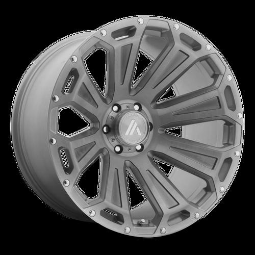 ASANTI OFFROAD AB813 CLEAVER hliníkové disky 10x20 5x127 ET-12 Titanium-Brushed