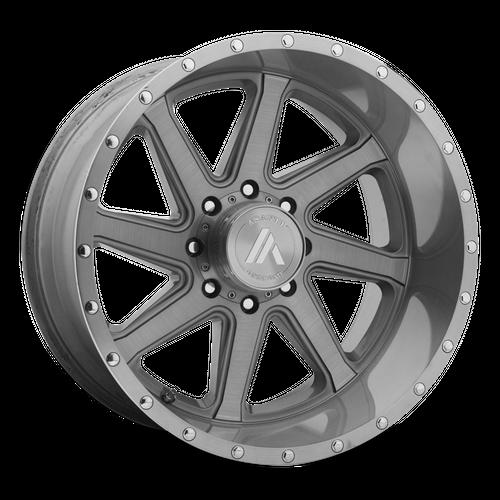 ASANTI OFFROAD AB814 WINDMILL hliníkové disky 12x20 5x127 ET-40 Titanium-Brushed
