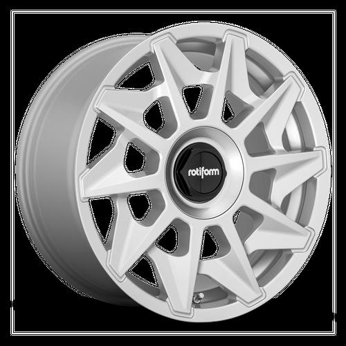 ROTIFORM R124 CVT hliníkové disky 8,5x18 5x112 ET45 GLOSS SILVER