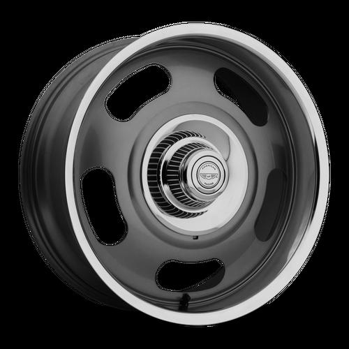 AMERICAN RACING VN506 hliníkové disky 9x17 5x120,65-127 ET12 Mag Gray Center Polished Lip