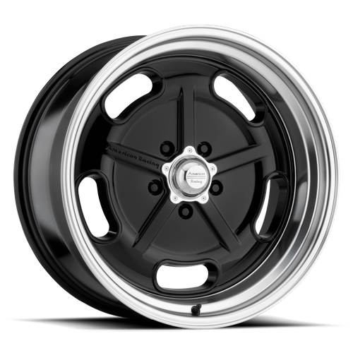 AMERICAN RACING VN511 SALT FLAT hliníkové disky 9,5x20 5x120,65 ET0 Gloss Black Diamond Cut Lip
