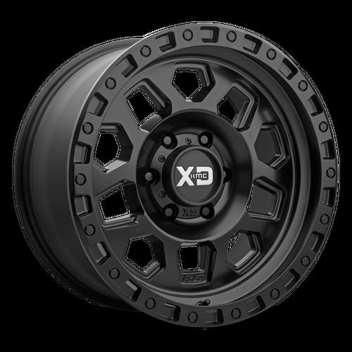 XD XD132 RG2 hliníkové disky 8x17 6x114,3 ET25 Satin Black