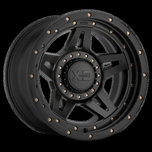 XD XD138 BRUTE hliníkové disky 9x20 8x180 ET0 Satin Black