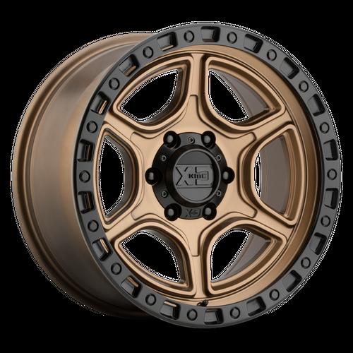 XD XD139 PORTAL hliníkové disky 8x16 6x139,7 ET-6 Satin Bronze Satin Black Lip