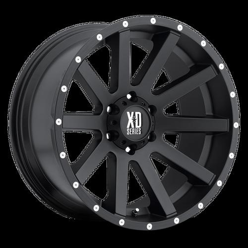 XD XD818 HEIST hliníkové disky 9x20 6x139,7 ET18 Satin Black