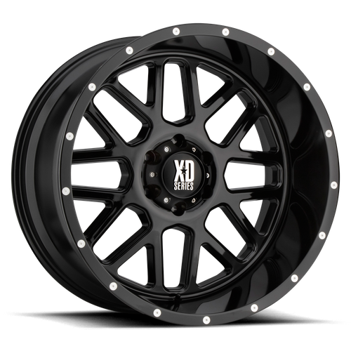 XD XD820 GRENADE hliníkové disky 9x20 5x127 ET0 Gloss Black