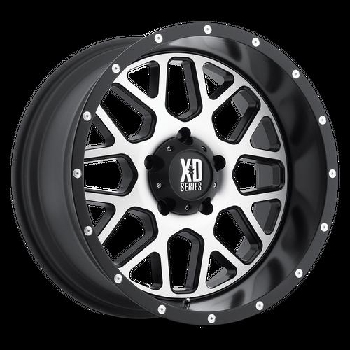 XD XD820 GRENADE hliníkové disky 9x20 8x170 ET18 Satin Black Machined Face