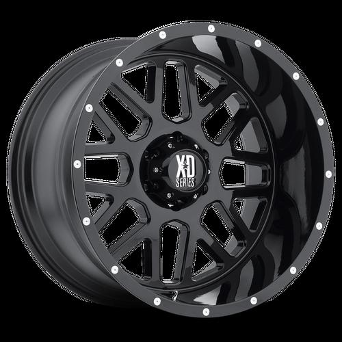 XD XD820 GRENADE hliníkové disky 8,5x17 5x114,3 ET0 Satin Black