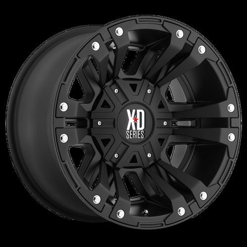 XD XD822 MONSTER II hliníkové disky 9x18 5x127-139,7 ET18 Matte Black