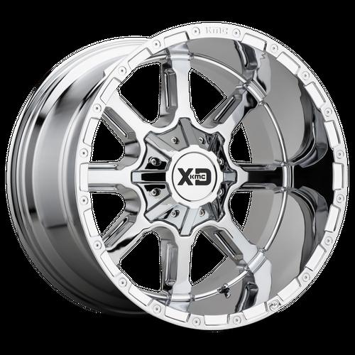 XD XD838 MAMMOTH hliníkové disky 12x20 8x180 ET-44 Chrome