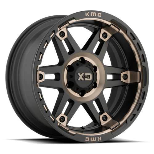 XD XD840 SPY II hliníkové disky 10x20 6x135 ET-18 Satin Black Dark Tint