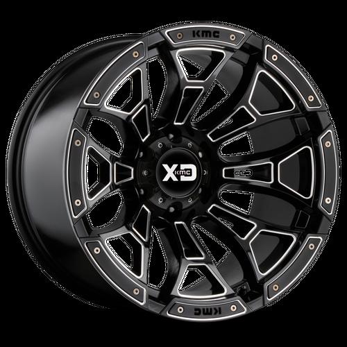 XD XD841 BONEYARD hliníkové disky 12x20 8x170 ET-44 Gloss Black Milled