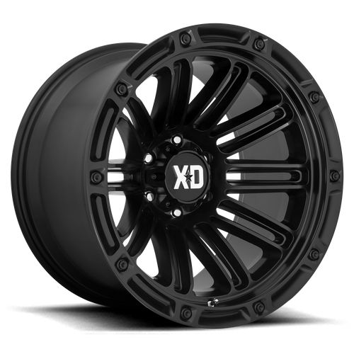 XD XD846 DOUBLE DEUCE hliníkové disky 12x20 8x170 ET-44 Satin Black