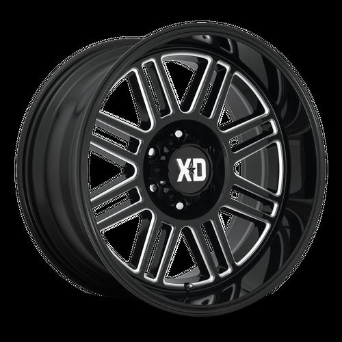 XD XD850 CAGE hliníkové disky 9x20 5x127 ET0 Gloss Black Milled