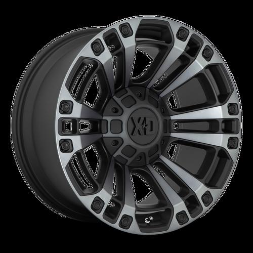 XD XD851 MONSTER 3 hliníkové disky 9x20 8x170 ET18 Satin Black With Gray Tint